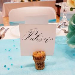 Place card of the name Patricia